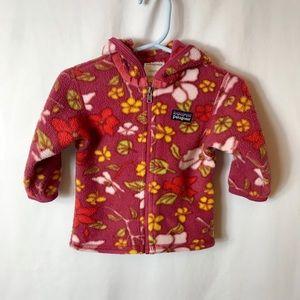 Patagonia Synchilla Zip Hoodie Fleece Sweatshirt